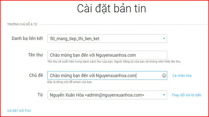 Cách dùng email marketing